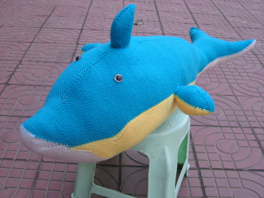 海豚编织方法
