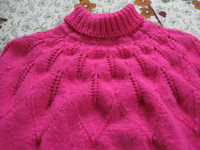 论坛 69 儿童服饰编织交流 69 儿童毛衣(棒针) 69 从上往下织的