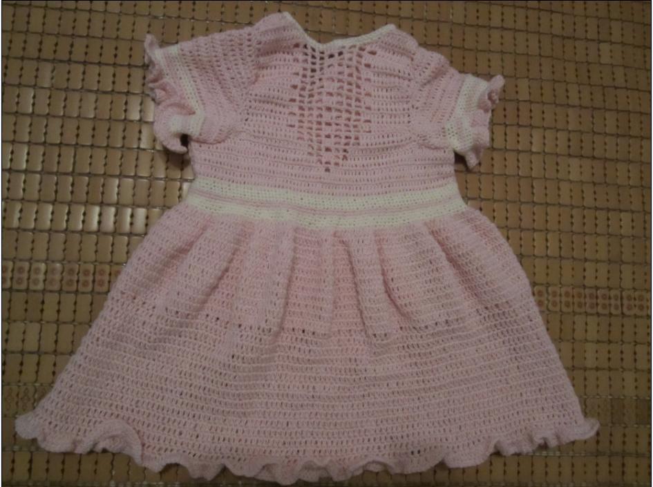 两款公主礼服裙(有图解)_儿童毛衣(钩针)_编织人生