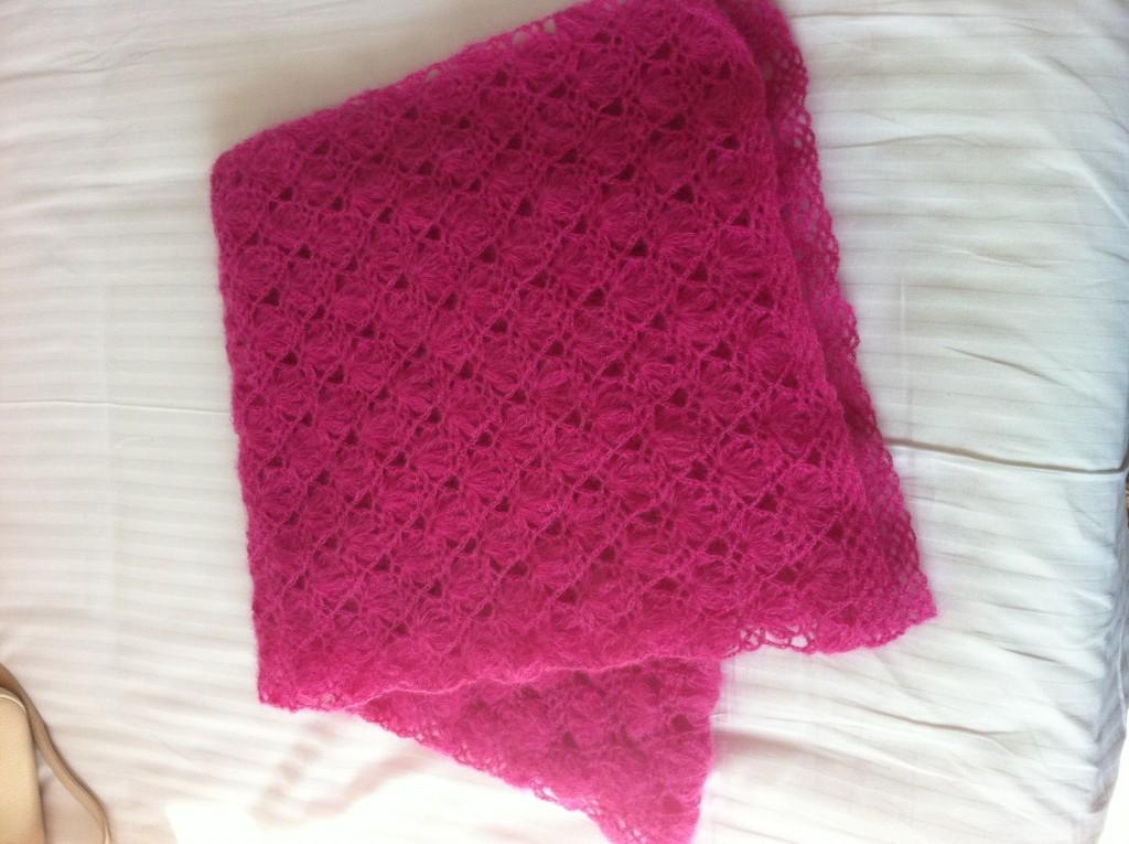 马海毛围巾的各种织法图解 图片合集