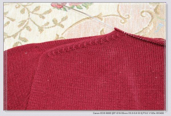 毛衣用缝针螺纹收针_[贝壳手工]平针也精彩-LG的羊绒拉链衫(大量装拉链图片)_2011年 ...