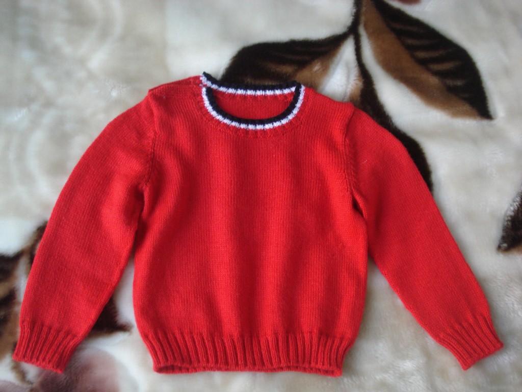 儿童毛衣编织款式