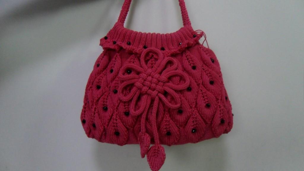 手工钩织包包图解_女红网钩织包包图解