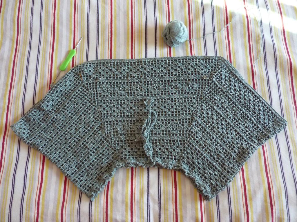 爱上钩衣-蝙蝠罩衣 - 编织家园 - 编织人生论坛