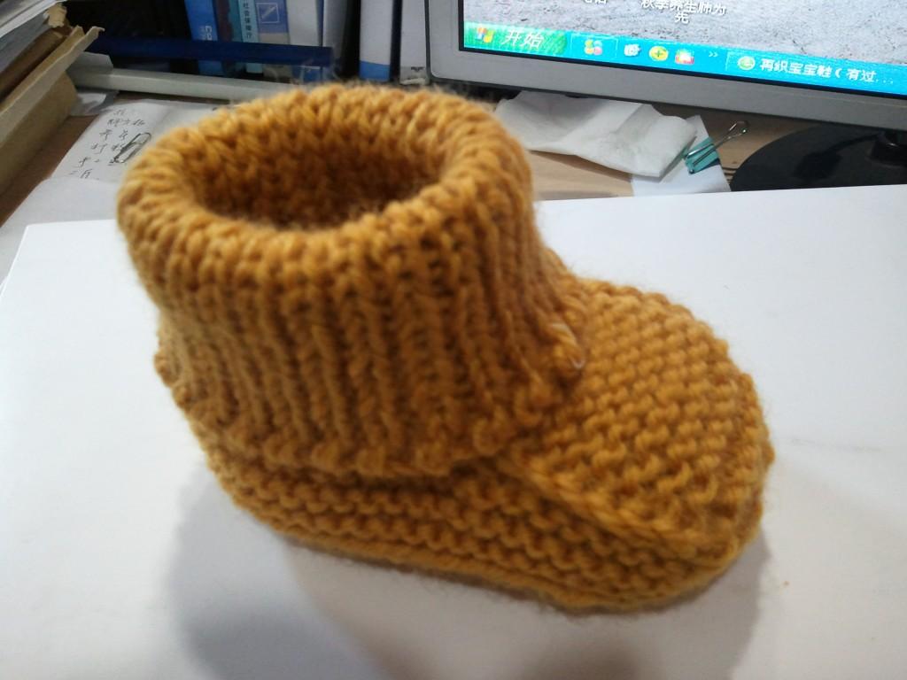 毛线宝宝鞋的织法_我刚刚编织的宝宝鞋 - 编织家园 - 编织人生论坛