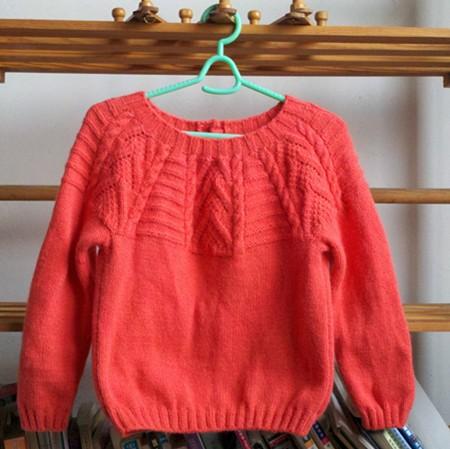论坛 69 儿童服饰编织交流 69 儿童毛衣(棒针) 69 从上往下西洋