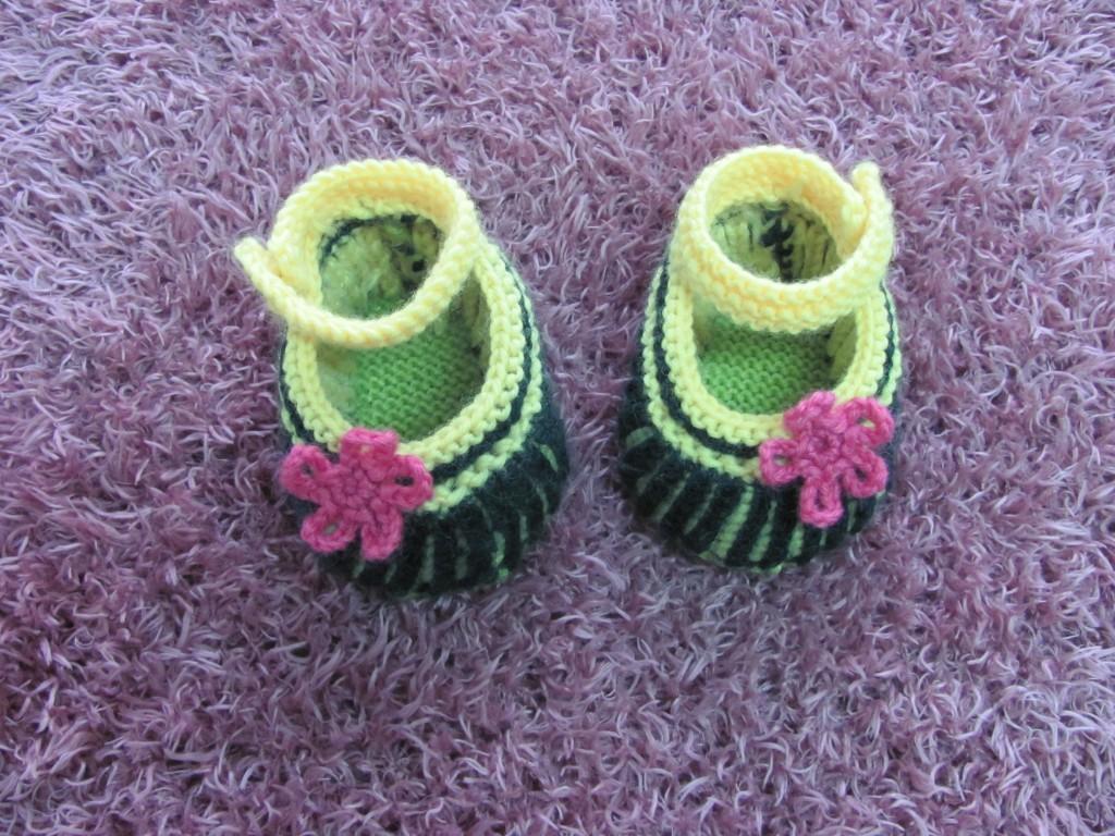 最满意一双宝宝鞋教材_编织人生论坛 -;; 针织可爱婴儿鞋图解; 可爱小