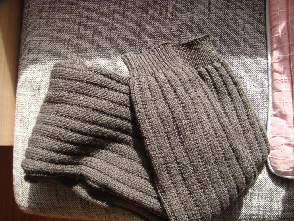 0——1岁儿童毛衣,毛裤,袜子的编织图案及方法