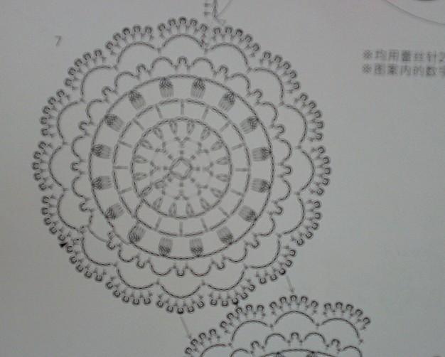 69 2011-2013年归档 69 蕾丝钩编圆形花装饰领    单元花