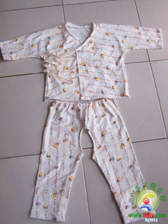 2014 12婴儿一片式和服 裁剪