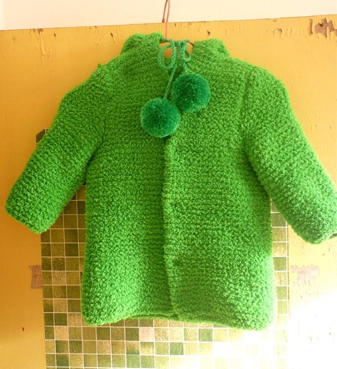 儿童服饰编织交流 69 儿童毛衣(棒针) 69 宝宝冬装绒绒线外套
