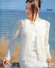[开衫] 白色的钩织开衫---漂亮极了