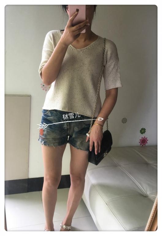 机织女士短袖