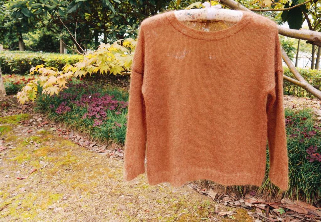 机织毛衣款