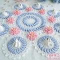扇子花围巾