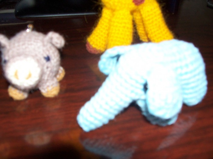 仿制 长颈鹿 乌龟 猪 大象 小鸭子