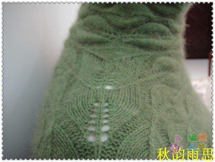 爱在深秋——绿色毛衣步骤来了