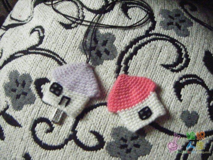 钩针编织作品区 69 钩针编织作品秀 69 小懒手工——可爱滴小房子