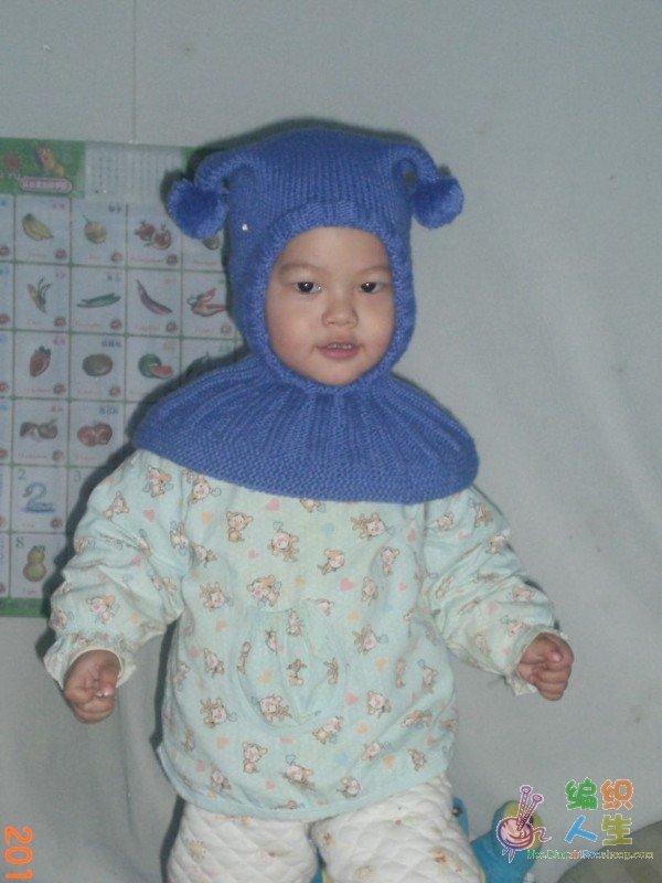超级可爱的儿童帽子编织进行中,大家一起来织吧!更新完毕!