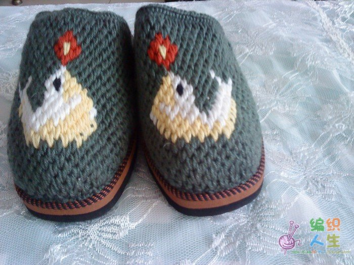 编织拖鞋花样 高清图片