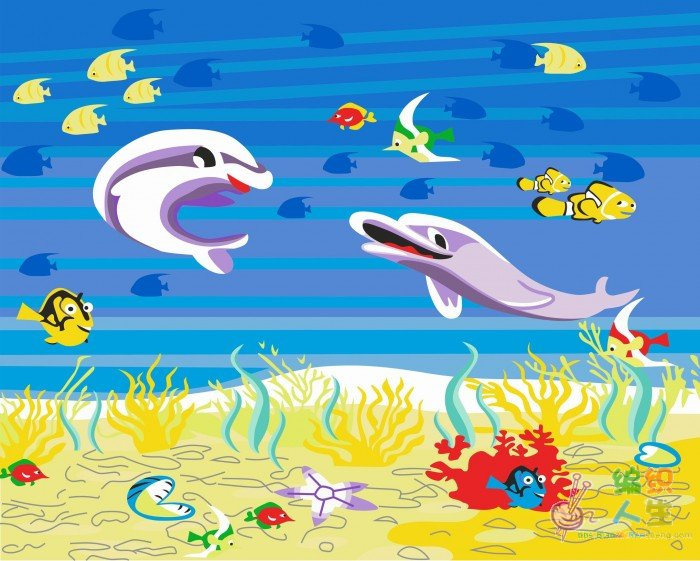 海底总动员彩铅手绘