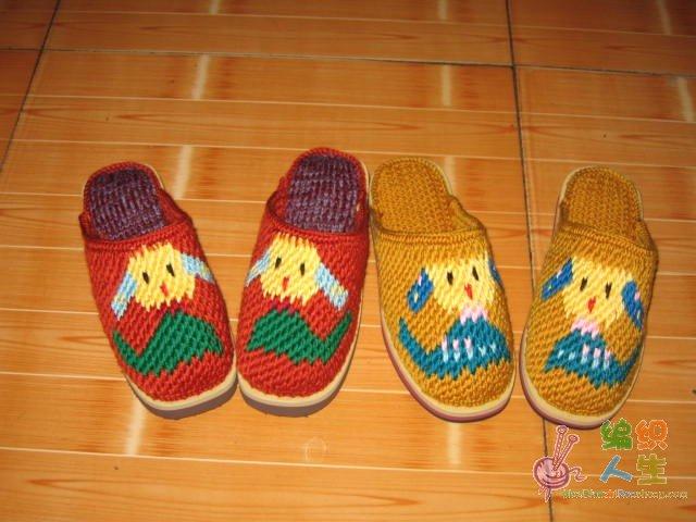 &圖解資料區 69 (鉤針)服裝配飾&家居 69 我收藏的毛線拖鞋花樣