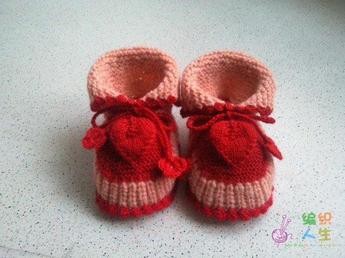 儿童鞋子编织图解