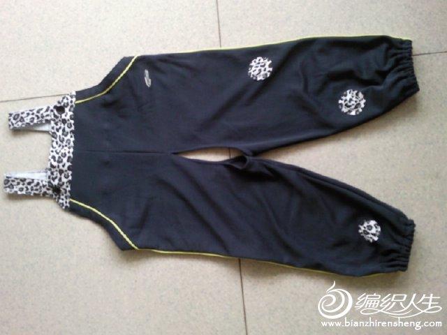 吊带裤结构图片