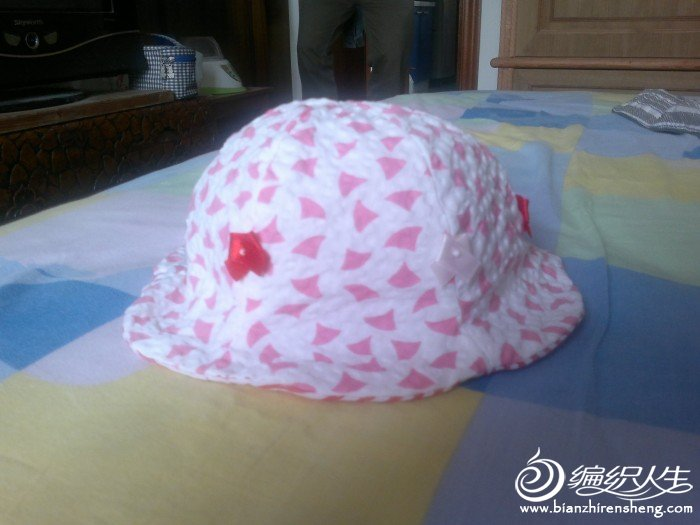 第一次做的宝宝帽子