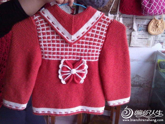 红色小孩子衣服