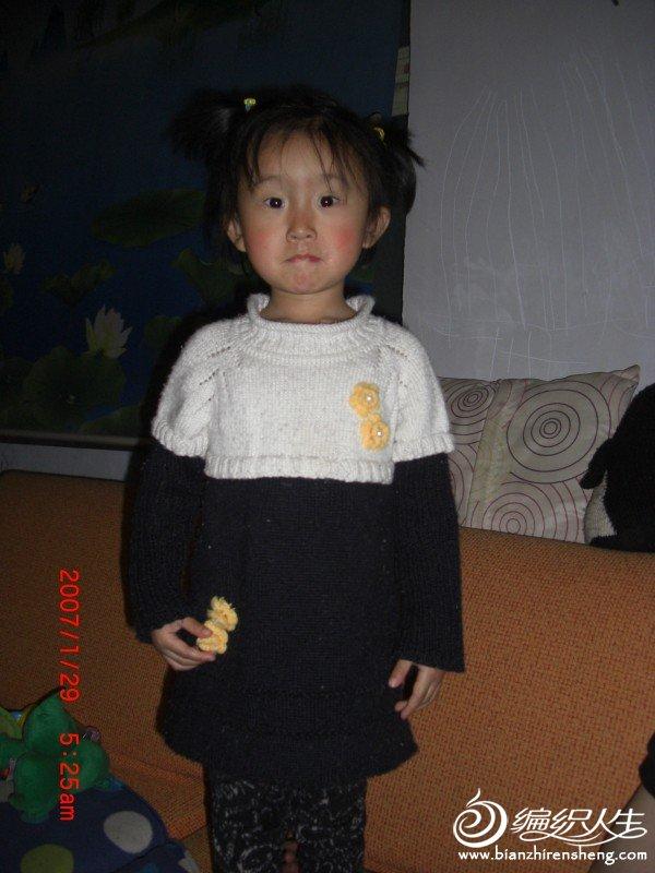 女儿的韩版毛衣.JPG