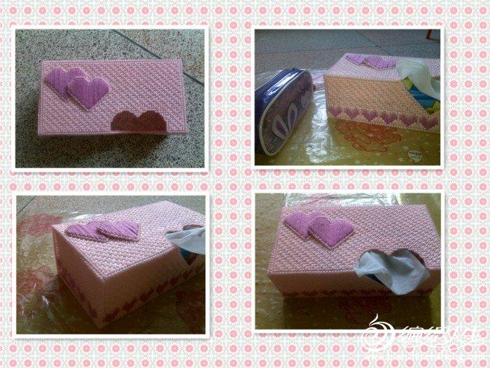 桃粉色的盒子。单单看着它,就有甜蜜的味道。