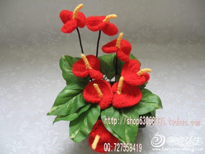 8朵红掌 木花盆=68元_conew1.jpg