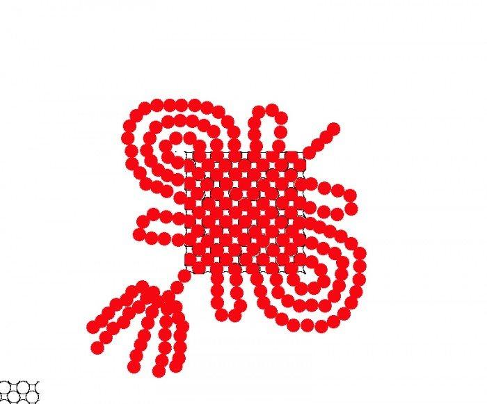手工串珠纸巾盒图纸图片展示_手工串珠纸巾盒图纸图片