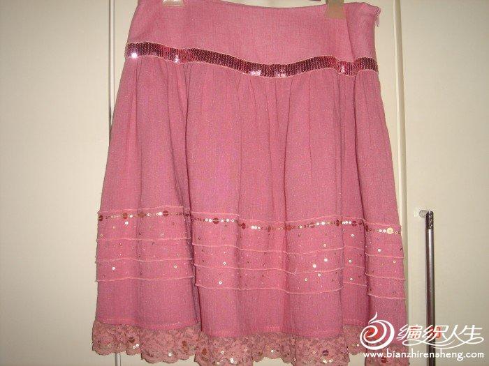 可可尼的裙子,腰70,长48,面料带麻的,原价1千多,现在180转。