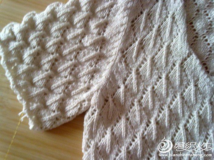 这是我姑妈织加工衫多的,拿来叫我织给女儿,女儿不要。说衣服太重,只好送人。