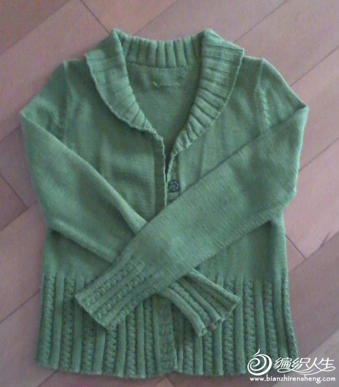绿色长袖款,可惜我太黑,不抬