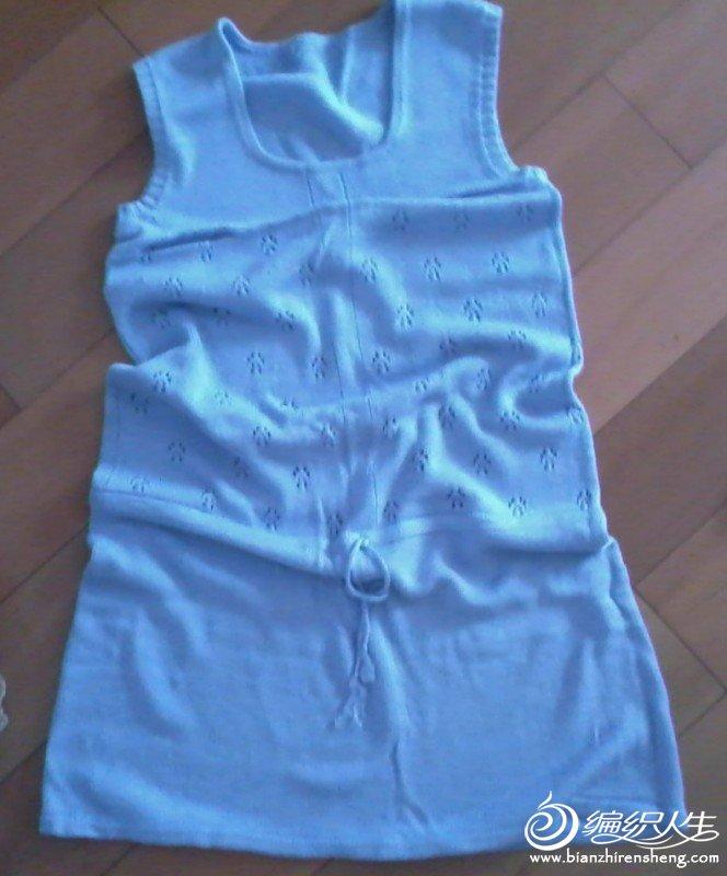 仿VS的背心裙,九色鹿丝棉,七两织就
