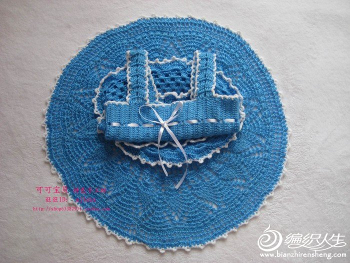 小披肩(披肩有图解哦)-儿童毛衣-棒针作品展示-中国编织论坛