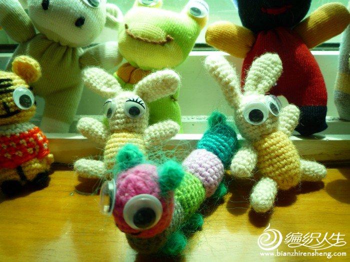 手工编织的小玩偶