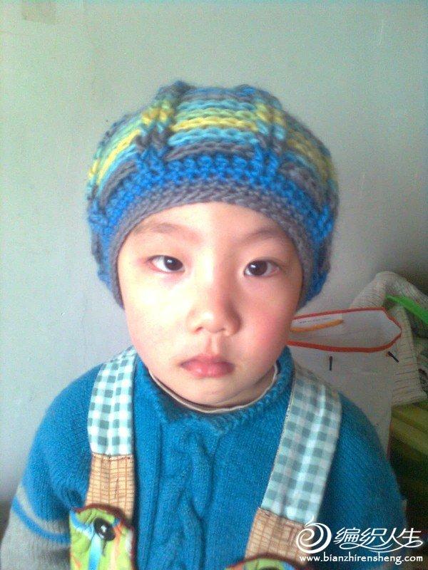 儿子的帽子