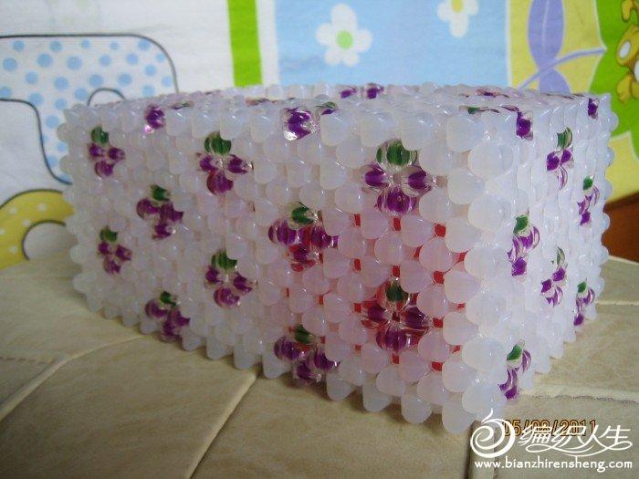 蓝莓纸巾盒