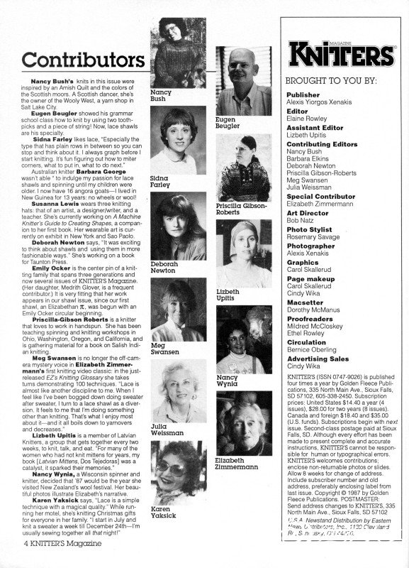 Knitters Issue 9 Winter 1987_page5_image1.jpg