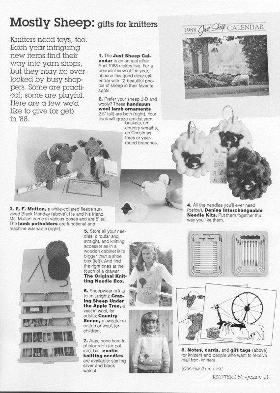 Knitters Issue 9 Winter 1987_page52_image1.jpg