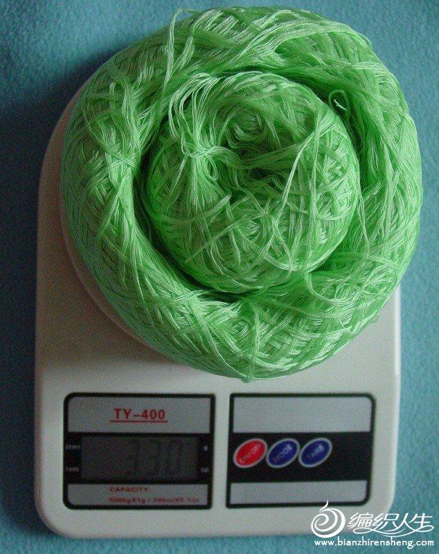 绿色蕾丝330克.JPG