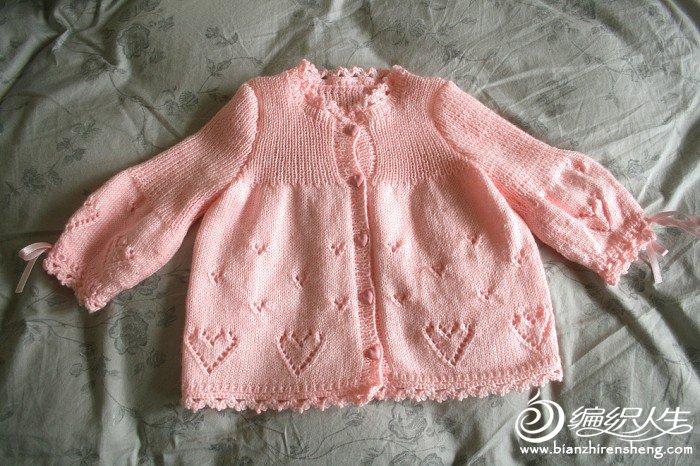 棒针毛衣花边图解 - 编织人生