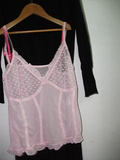 蕾丝吊带套装
