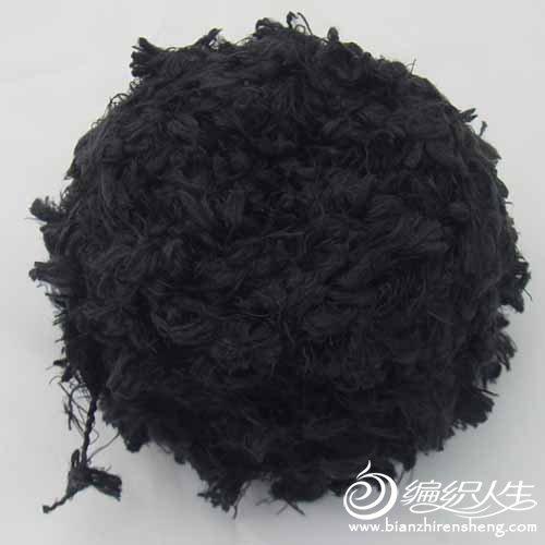 进口绒线,黑,手感好,柔软可贴肤