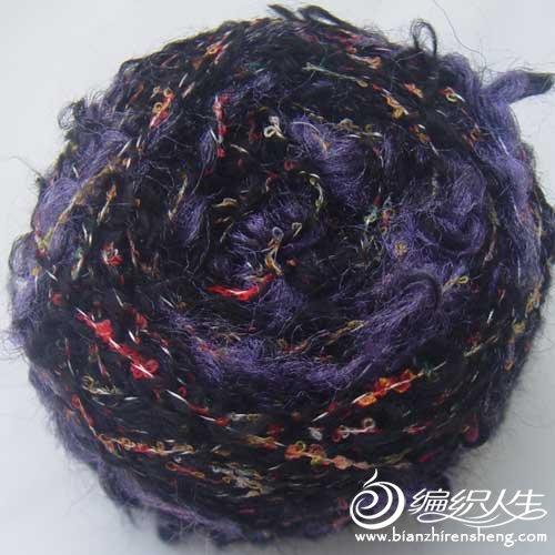 混纺羊毛圈线