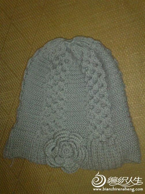 浅灰色女帽